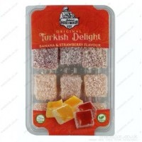 TURKISH DELIGHT BANANA STAWBERRY FLAVOUR 180G