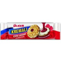 ULKER BISCUITS WITH RASPBERRY 165G