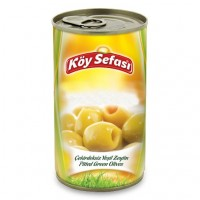 KOY SEFASI GRILL PITTED GREEN OLIVES 8 KG